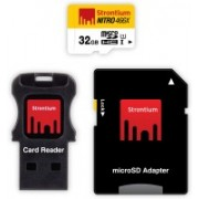 Strontium Nitro 32 GB SDHC Class 10 70 MB/s Memory Card(With Adapter)