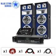 "Electronic-Star DJ PA комплект Blue Star Series ""Beatmix"", 1200 W (BS-Beatmix)"