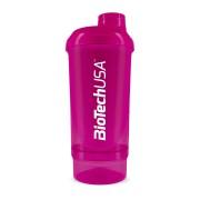 BioTechUSA Wave+ Compact Shaker 500ml (+150ml) - Magenta
