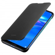 Huawei Y7 Prime 2019 Flip Cover, черен