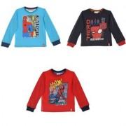 Spider-Man Spiderman Långärmad T-shirt barn (Röd, 6 ÅR - 116 cm)