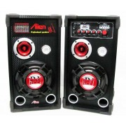 Set 2 boxe cu amplificare si MP3 Alien AN-S08