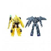 Hasbro Transformers - Bumblebee y Megatron - Pack 2 Figuras Legión Transformers 5
