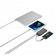 Portabel batteriladdare GP PowerBank Voyage 2.0 med 15.000 mAh - Grå