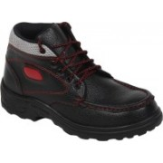 Kavacha Steel Toe Safety Shoe, S14 Boots For Men(Black)