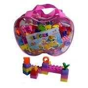 ISRE Kids Building Blocks - 79 Pieces - Building Block Set for Children (Multi Color)
