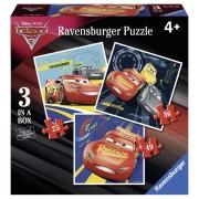 PUZZLE CARS, 25/36/49 PIESE - RAVENSBURGER (RVSPC06925)