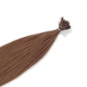 Rapunzel® Hair extensions Bondings Original Glatt 5.1 Medium Ash Brown 30 cm