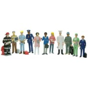Figurine Profesii Miniland, 11 piese