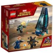 Конструктор Лего Супер Хироус - Нападение с десантен кораб, LEGO Marvel Super Heroes, 76101