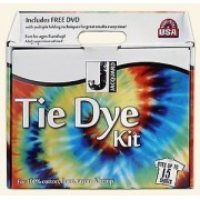 Tie Dye Kit by Jacquard with Free DVD Included Dyes up to 15 Shirts for 100% Cotton, Linen Rayon & Hemp