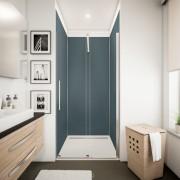 Schulte Home Lot de 3 panneaux muraux, 90 x 210 cm + 5 profilés, anthracite