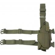 Funda Holder Para Pistola Pistola Diestro, Verde Del Ejército