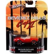 Hot Wheels Retro Beverly Hills Cop II 1:55 Die Cast Car 68 Olds Cutlass Convertible