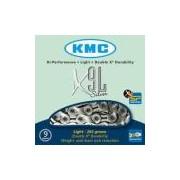Corrente MTB SPEED KMC X9L 9V Silver Prata