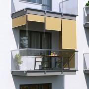 Jarolift Store Extérieur Vertical, Sable, 140 x 140 cm