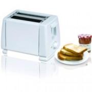 Тостер Sapir SP 1440 B, 750W, За 2 филийки, 6 степени на запичане, бял