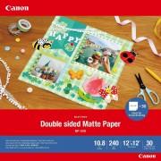 Canon Papier mat recto verso Canon MP-101D, 30 × 30 cm, 30 feuilles