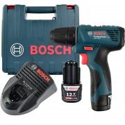 Atornillador Inalámbrico 12V Bosch GSR 120-LI + Maletín