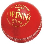 Cricket Leather Ball CW Winn (In Pack Of Six balls)