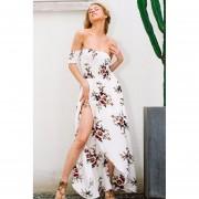 Vestido Largo Estilo Floral
