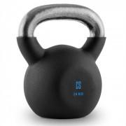V-ket 24 Kettlebell Peso Vinil Áspero Fitness Musculação 24 kg
