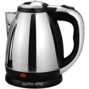 Zeom 1.8 L Stainless Steel Quick ikitz Heating Tea - Water Boiler Heater Pot Electric Kettle (1.8, Chrome) Electric Kettle(1.8 L, Silver)