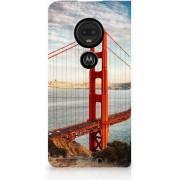 Motorola Moto G7 G7 Plus Standcase Hoesje Design Golden Gate Bridge
