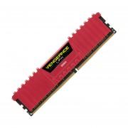 Memoria Ram DDR4 Corsair Vengeance LPX 2400MHz 8GB PC4-19200 Roja CMK8GX4M1A2400C16R