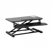 Sit-Stand Desk - sit-stand elevation - height-adjustable