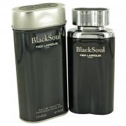 Black Soul by Ted Lapidus Eau De Toilette Spray 3.4 oz