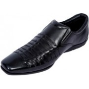 Port GLOBE_B Lace Up For Men(Black)