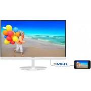"Monitor IPS LED Philips 23"" 234E5QHAW/00, Full HD (1920 x 1080), HDMI, MHL-HDMI, 5ms GLG, Boxe (Alb)"