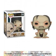 Gollum: Funko Pop Movies X Lord Of The Rings Vinyl Figure + 1 Official Hobbit/Lotr Trading Card Bundle [#532]