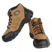 Armado Mens Brown Black Lace-up Casual Shoes