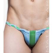 Mategear Hae Sang IV Seamless Xpression Series Mini Bikini Swimwear Light Blue 1491002