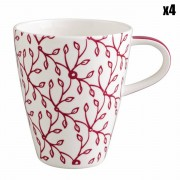 Villeroy & Boch 4 Tasses Caffè Club Floral cerises - 35 cl