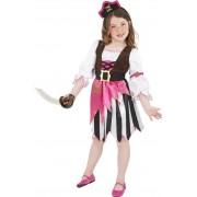 Costum pirati fetite 7-9 ani