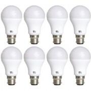 Alpha B22 7-Watt LED Bulb (Pack of 8 Cool Day Light)
