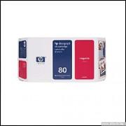 HP 80 Magenta Inkjet Print Cartridge (C4847A)