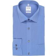 OLYMP Luxor Comfort Fit Hemd blau, Einfarbig