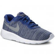 Nike Buty NIKE - Tanjun (GS) 818381 405 Deep Royal Blue/Cool Grey