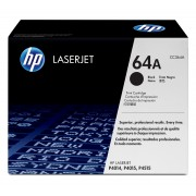 HP LaserJet 24K Black Toner Cartridge Contains one LaserJet CC364X standard capacity black print cartridge. Prints approximately 24,000 pages using the ISO/IEC 19752 yield standard.