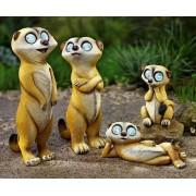 Weltbild Solární rodinka surikat, sada 4 ks