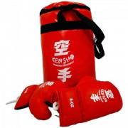 Piros boxzsák kesztyűvel - Sportjátékok