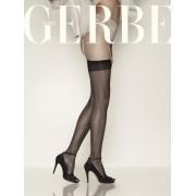 Gerbe Tunna stockings Sunlight 10 DEN utan mönster noir 2