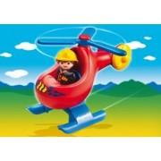 Playmobil 1.2.3 Helicóptero de Rescate