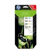 Мастило HP 940XL combo 4-pack, 4 цвята, p/n C2N93AE - Оригинален HP консуматив - к-т 4 касети с мастило