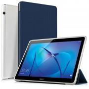Capa para Huawei MediaPad T3 10 Tri-Fold Folio - Azul Escuro