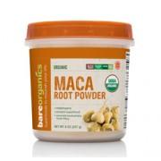 BareOrganics MACA ROOT POWDER (Raw-Organic) (8oz) 227g